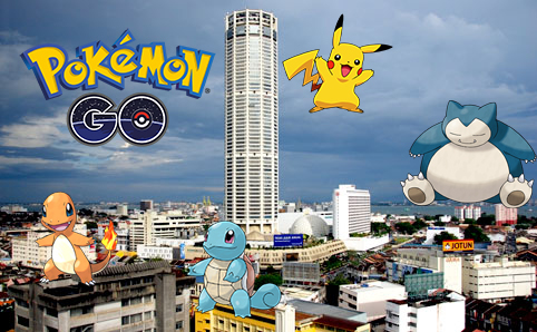 Top 5 Pokémon Go Spot In Penang Island – Marketing