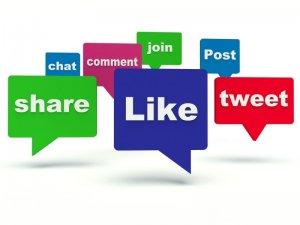 Likes shares