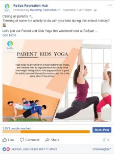 Parent Kid Yoga